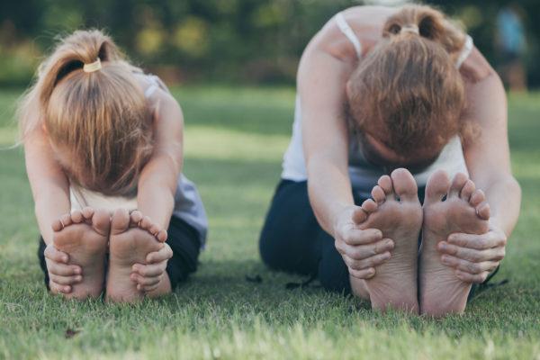 Yoga e práticas meditativas para crianças